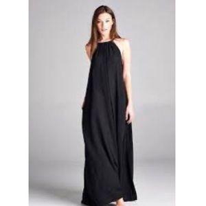 Zara tier straps maxi dress Sz M